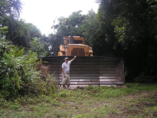 Mark and the Bulldozer